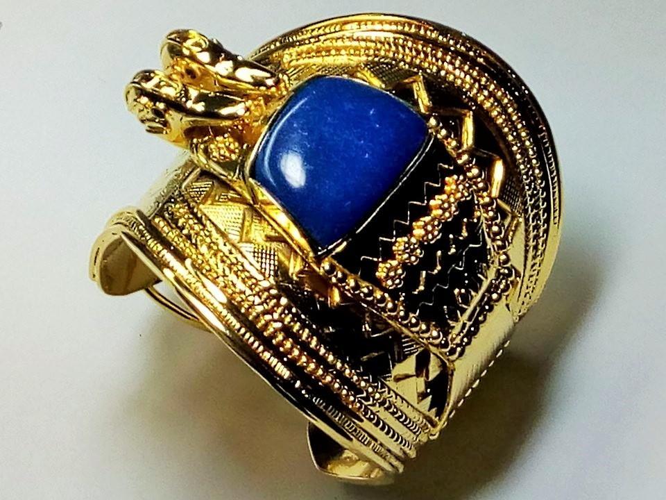 d64c5259d26 Bracelete Ramsés II no Elo7