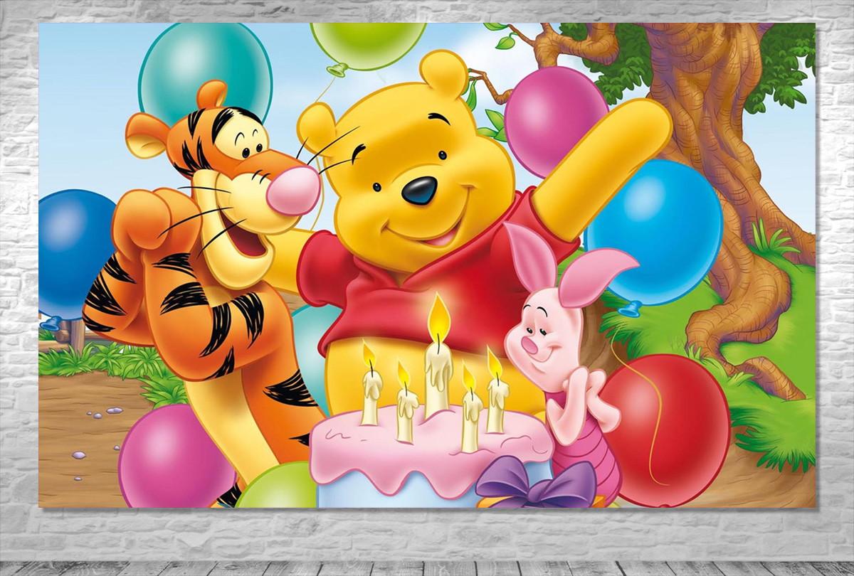 Painel Ursinho Pooh Frete Gratis No Elo7 One Artes B37cd7