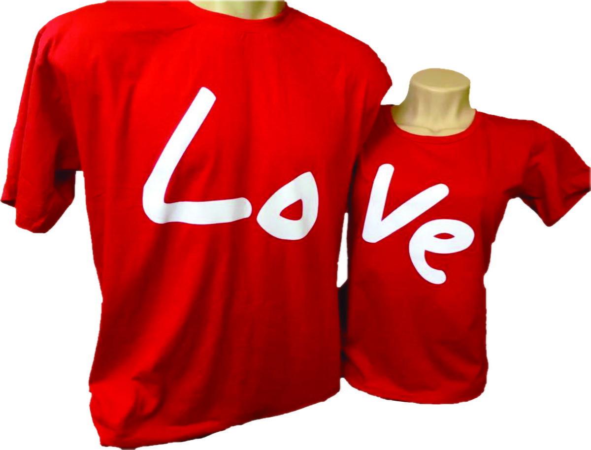 Camiseta Love 2 und. Casal e king e queen no Elo7  299f53ae0052c