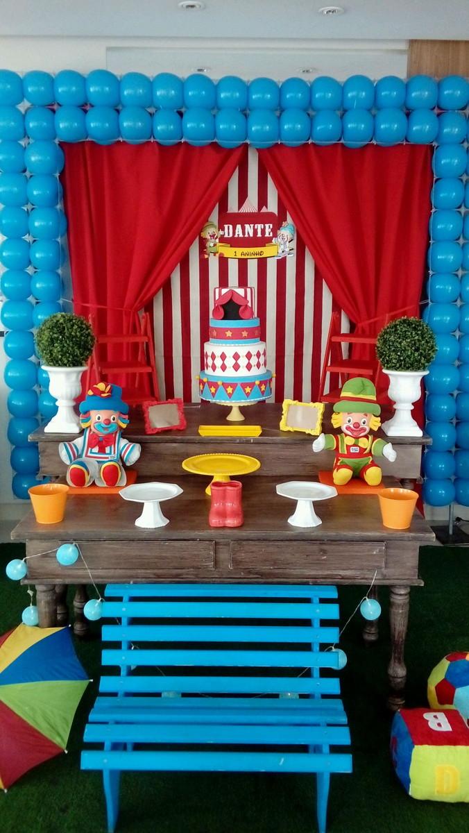 Decoraç u00e3o rústica circo Patati Patatá no Elo7 Dulce Fiesta Decora (802C95) -> Decoração Para Festa Infantil Zona Leste