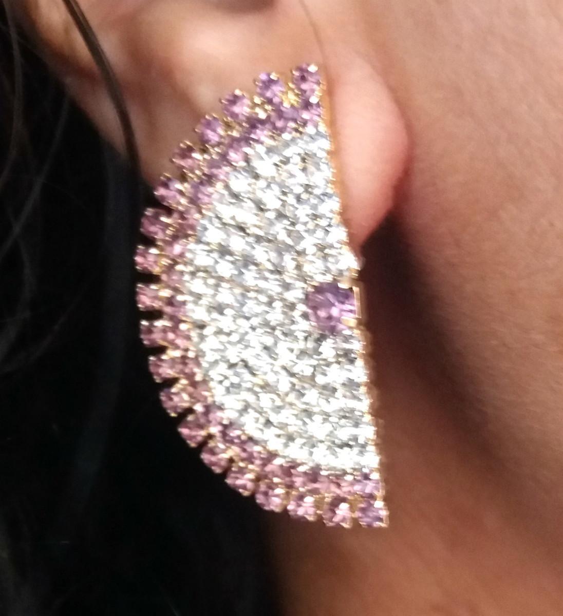 b0c38a4bb5087 Brinco Ear Cuff Delicado Semi Joia Folheado Em Ouro 18k no Elo7 ...