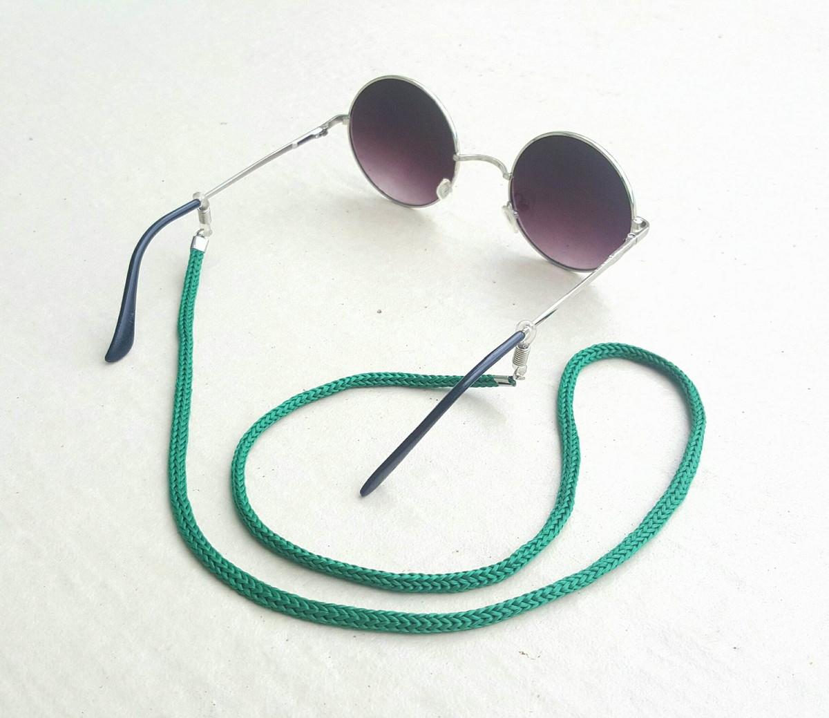 Salva Óculos (Verde) no Elo7   Anellus Acessórios (B42AA3) 6ab88ffec7