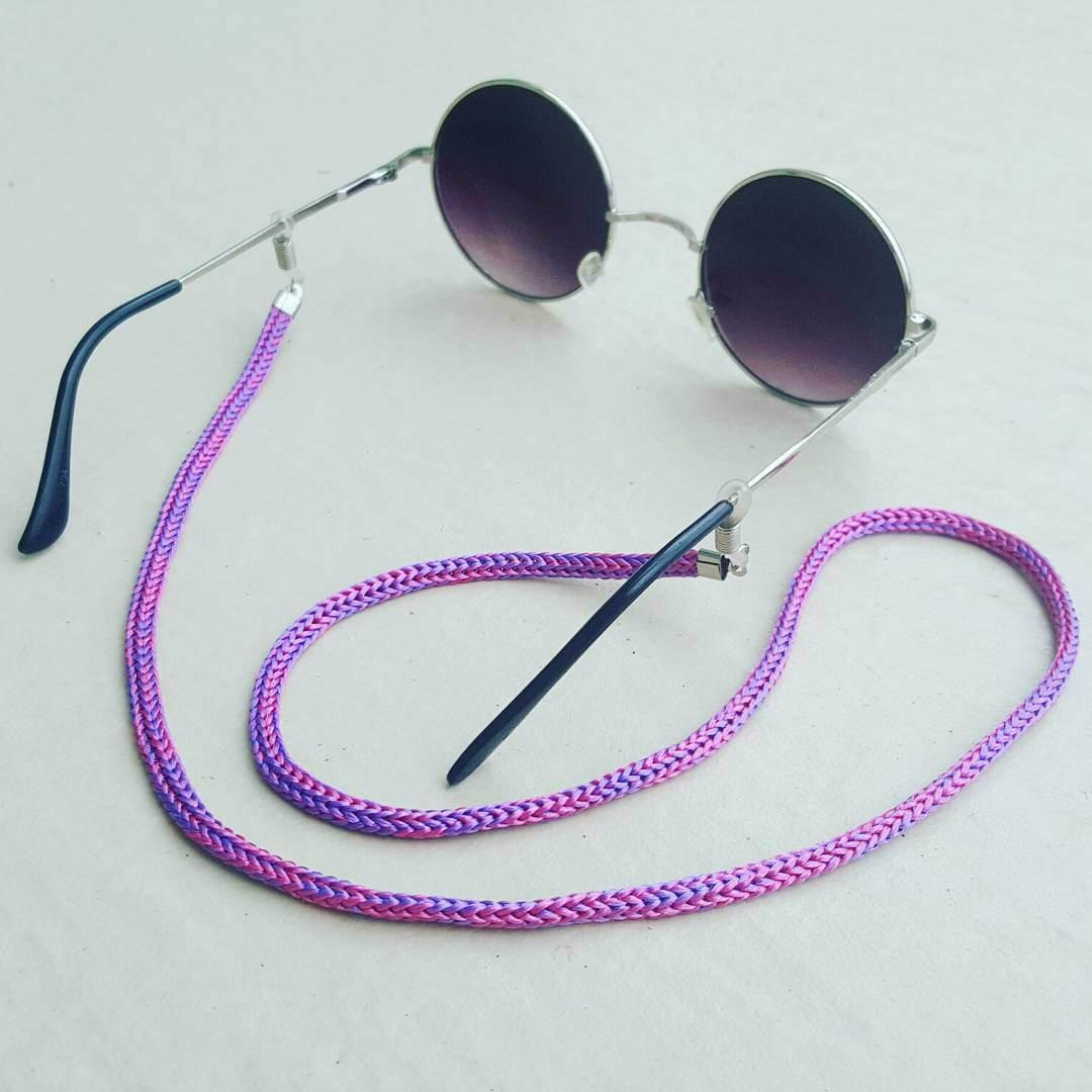 Salva Óculos (Rosa Lilás) no Elo7   Anellus Acessórios (B42AFC) 9a23ad8980