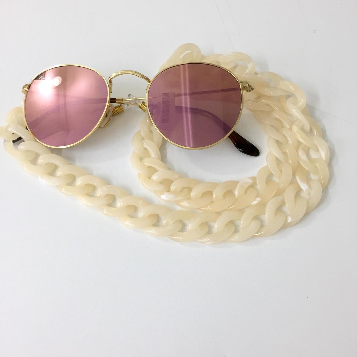Correntes para pendurar óculos no Elo7   Carla Barranco acessórios ... 2c181a1ad7