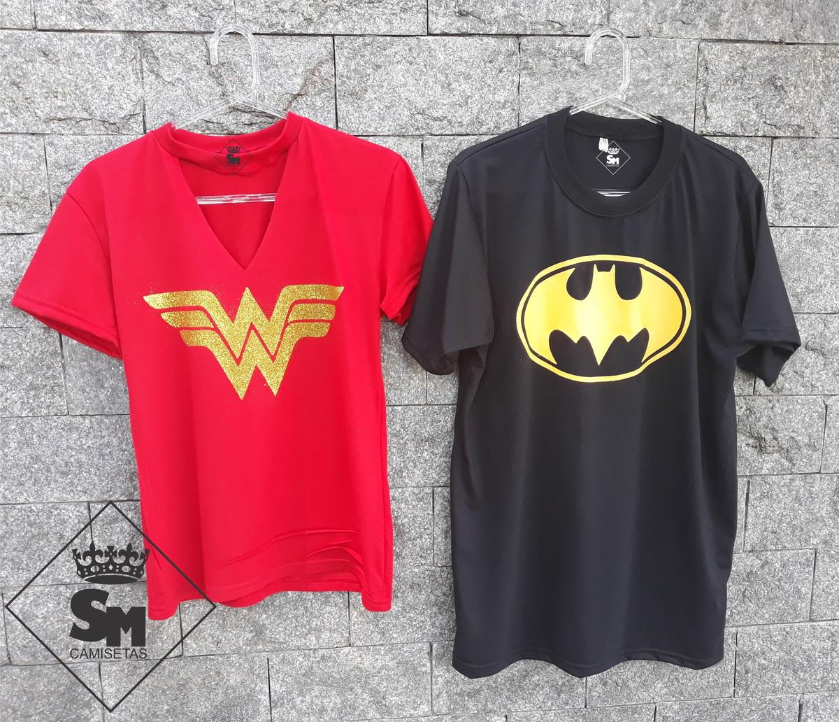 Kit Choker Mulher Maravilha + Camiseta BATMAN no Elo7  508acebef97ad