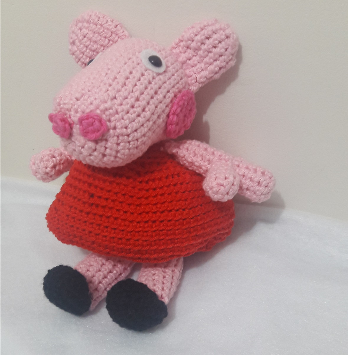 Contemporary Peppa Pig Knitting Pattern Embellishment - Easy Scarf ...