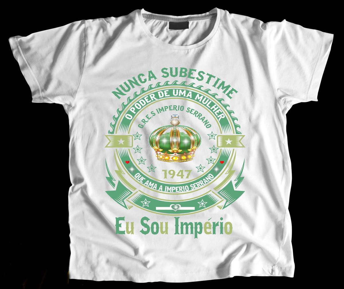 1800aa759 Camiseta Eu Sou Império Serrano no Elo7