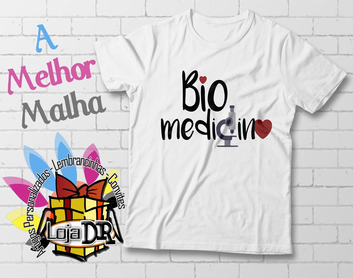 Camiseta Biomedicina no Elo7  c30561d018f