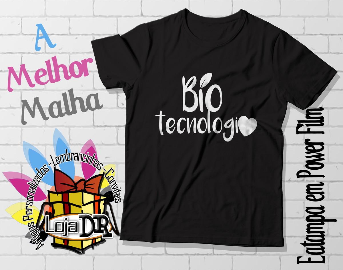 710f9324a93c1 Camiseta Bio Tecnologia no Elo7