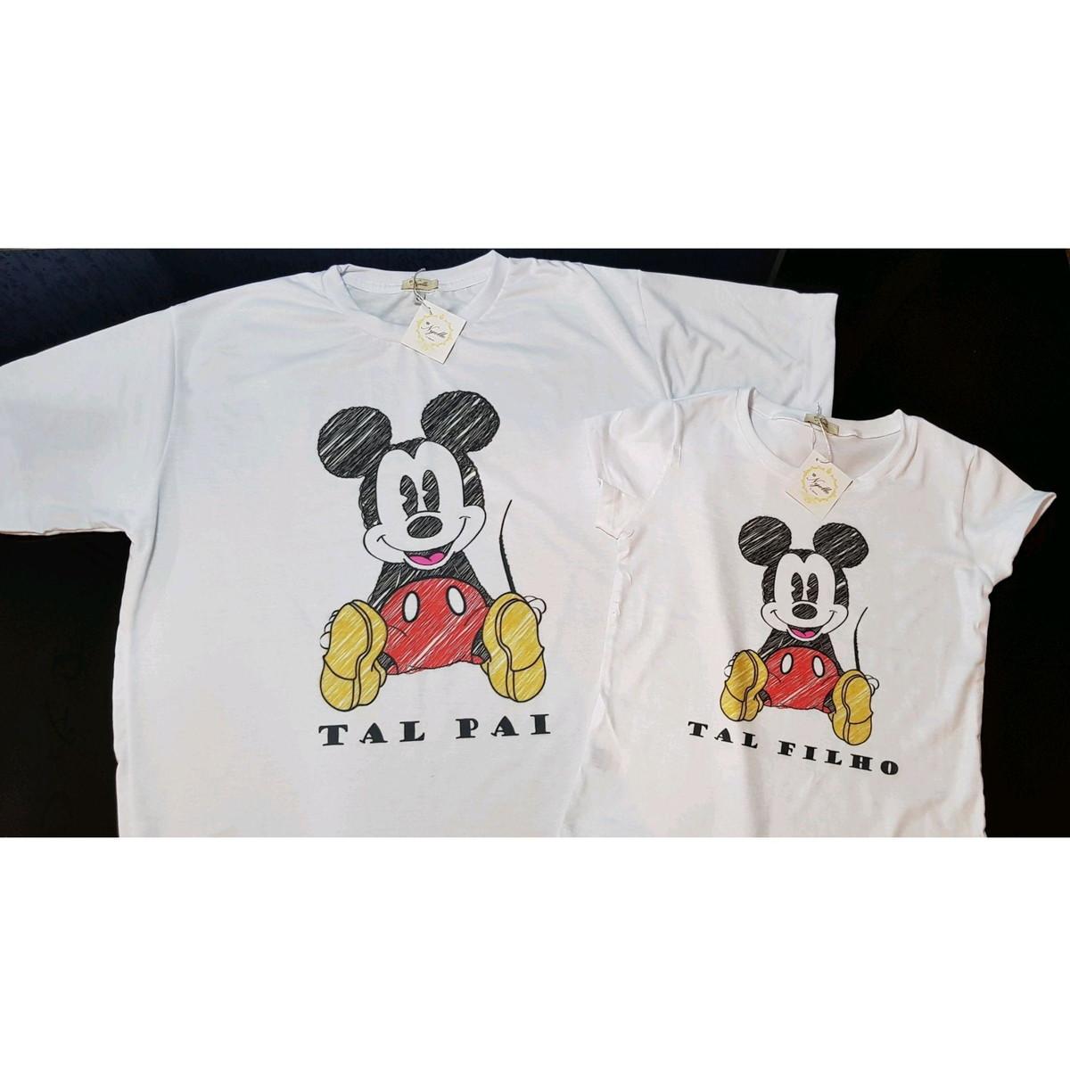 c1f0bf4354d535 Camisetas T-Shirt Masculina - Tal Pai, Tal Filho - Mickey