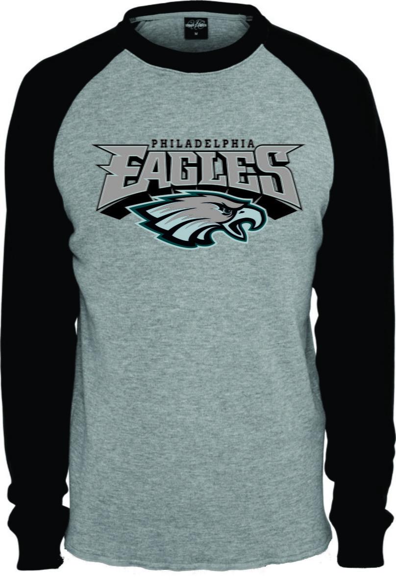 Camisa Camiseta Raglan Manga Longa Philadelphia Eagles Nfl no Elo7 ... 24a3423b49a