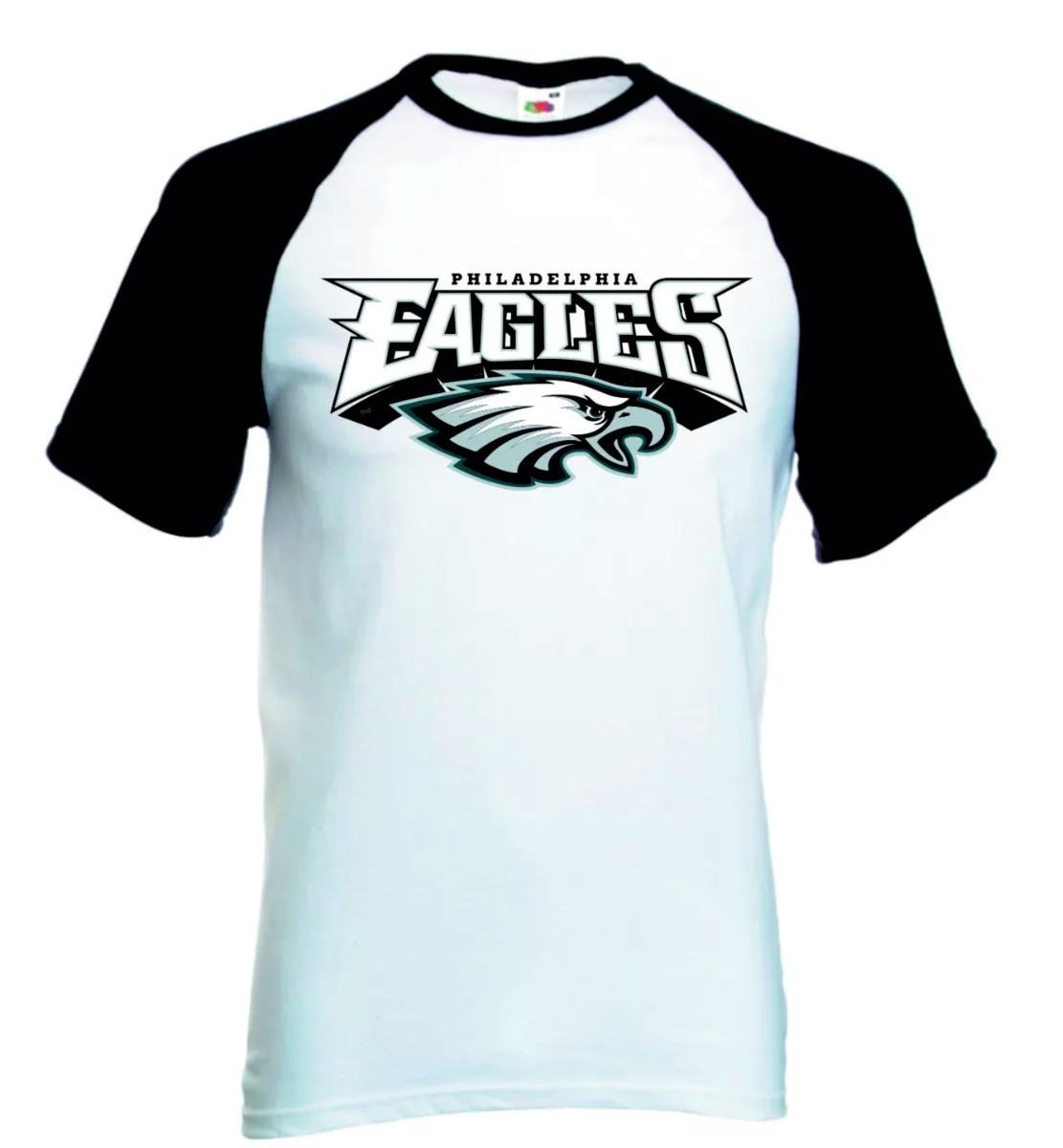 Camiseta Raglan Manga Curta Philadelphia Eagles Nfl no Elo7  a8d560739a8