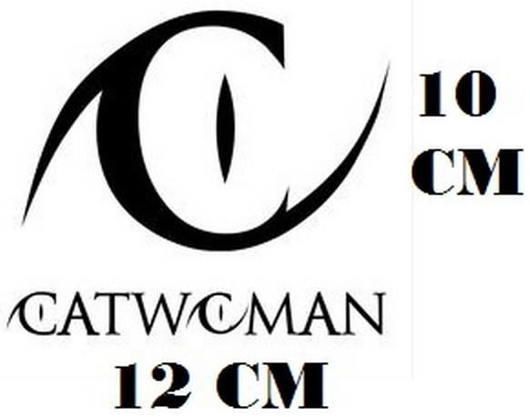 Zoom Adesivo Logo Catwoman Frete Gratis
