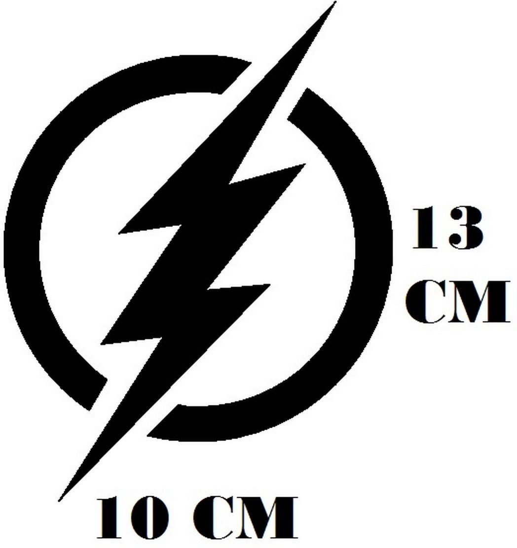 adesivo logo flash frete grátis no elo7 sticker king b4e5a2