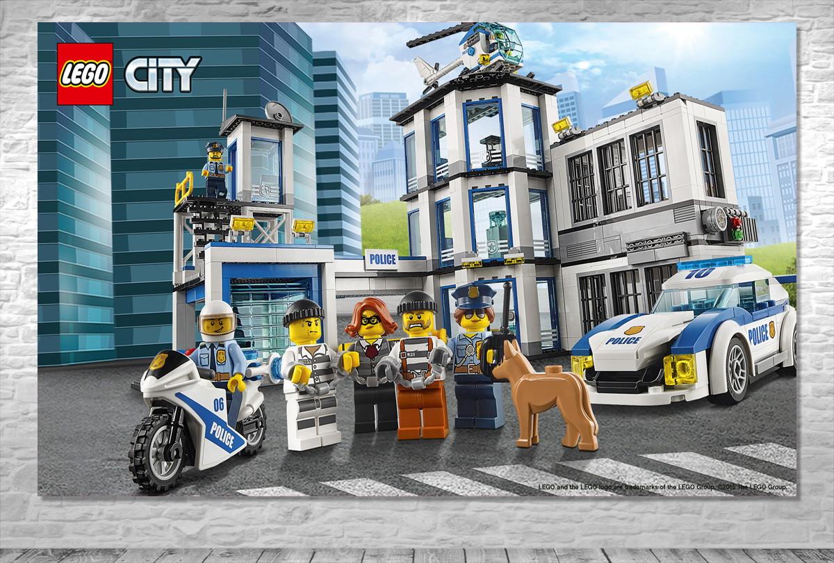Painel LEGO City - Frete Grátis no Elo7 | ONE Artes (B4EF53)
