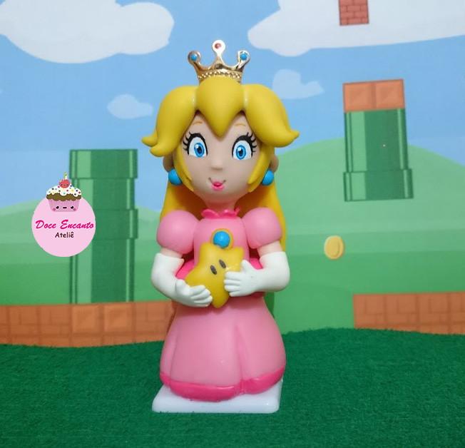 princesa peach super mário no elo7 doce encanto ateliê arte em