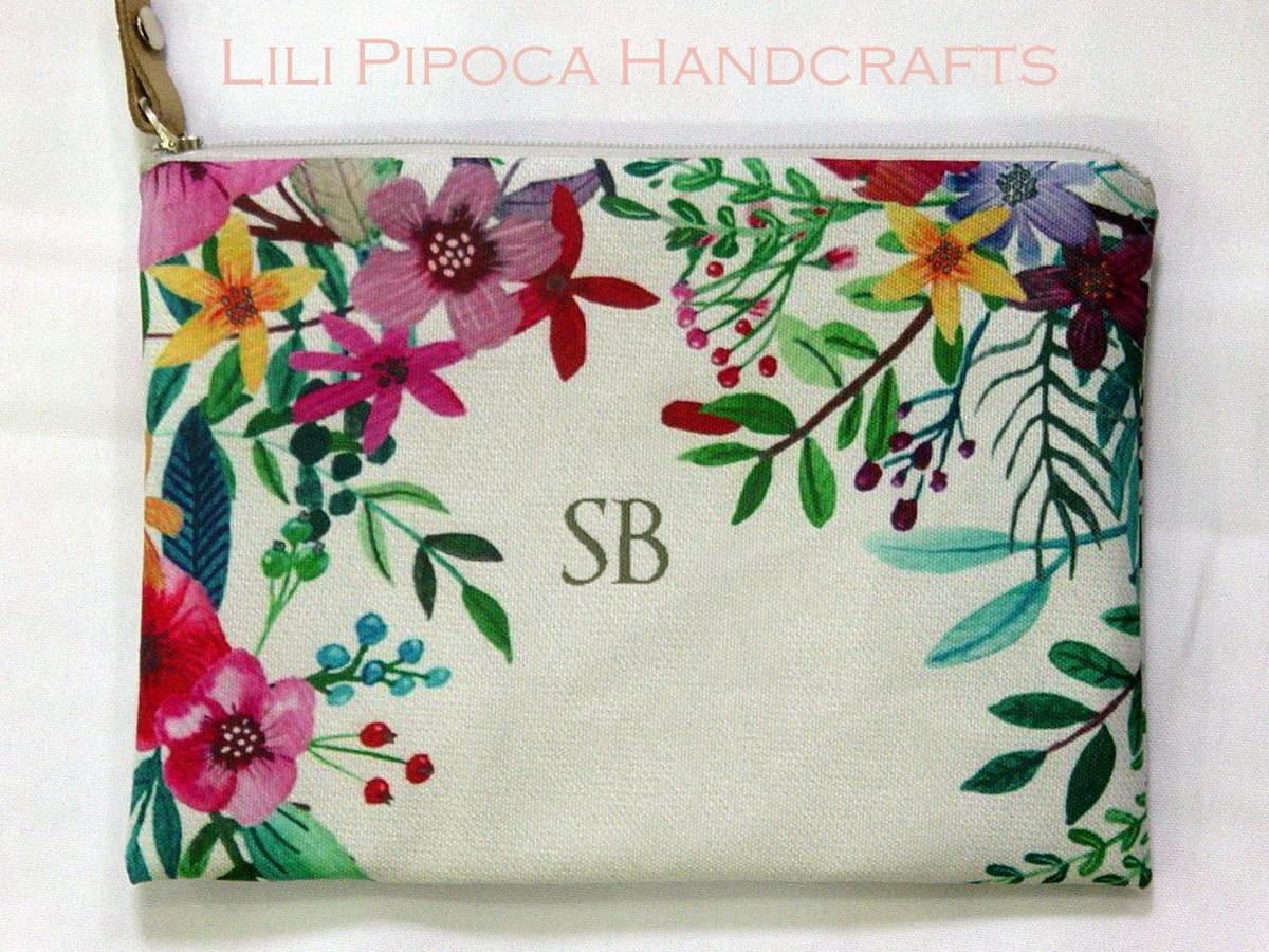 e32b171fa Necessaire Floral Personalizado no Elo7 | Lili Pipoca (B50AC6)
