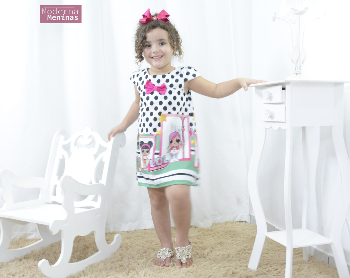 e9298e49ae Vestido infantil das mínis bonecas Lol surprise - Fashion no Elo7 ...