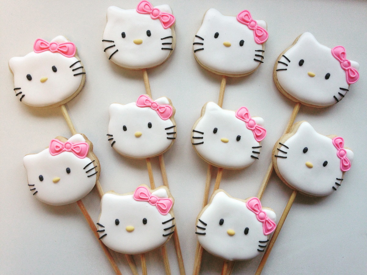 Biscoito Decorado Hello Kitty no Elo7  ff3c67ecaa144