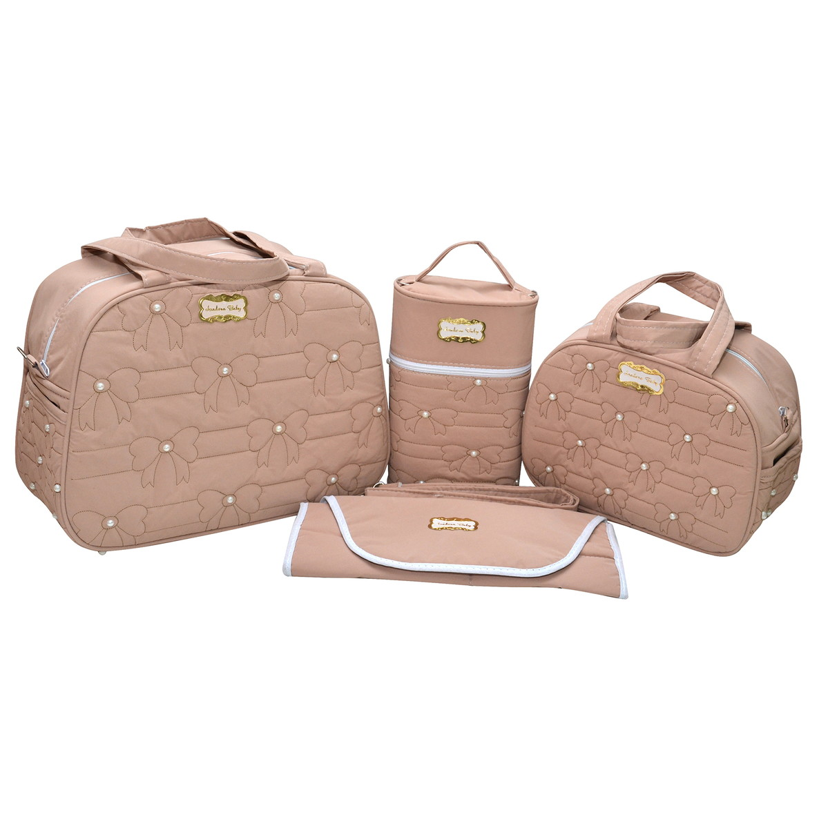 b45e4bc34 Kit bolsa maternidade menina 4 peçs luxo no Elo7 | Host Vendas (B532F1)