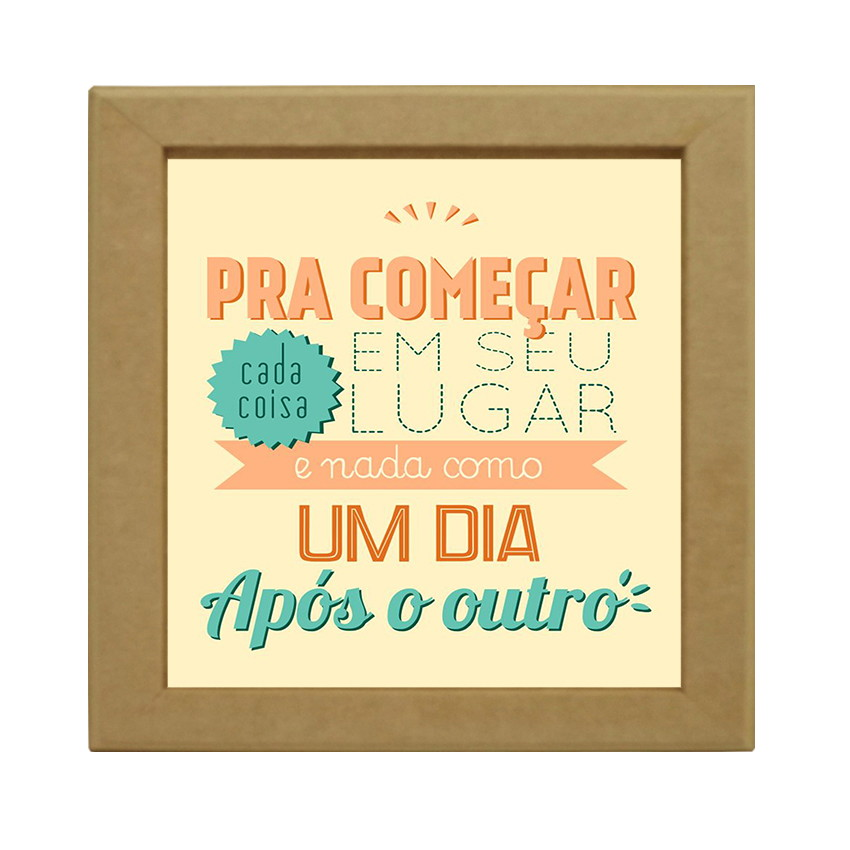 Quadrinho Decorativo Frases No Elo7 Boutique De Casa B54f09