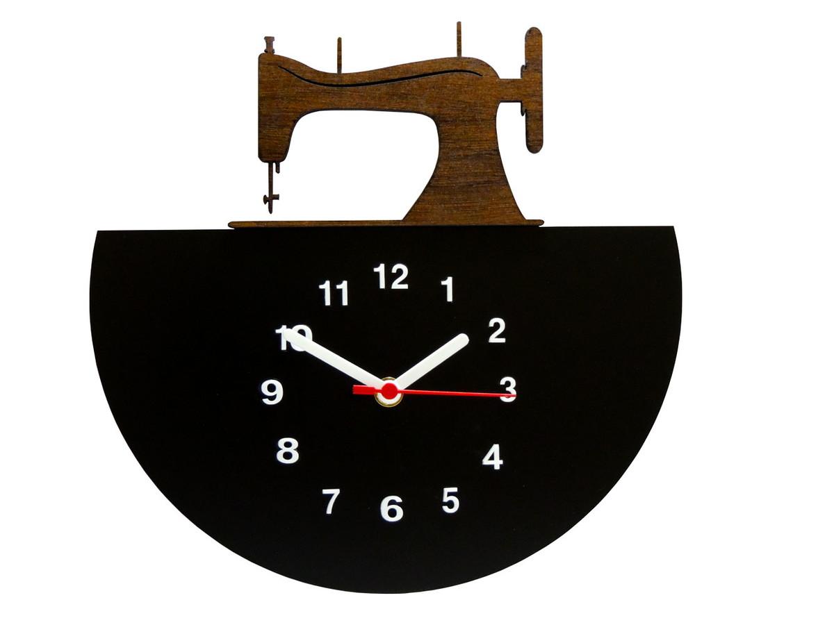 405178c7dd7 Relógio de Parede Decorativo - Modelo Maquina de Costura no Elo7 ...