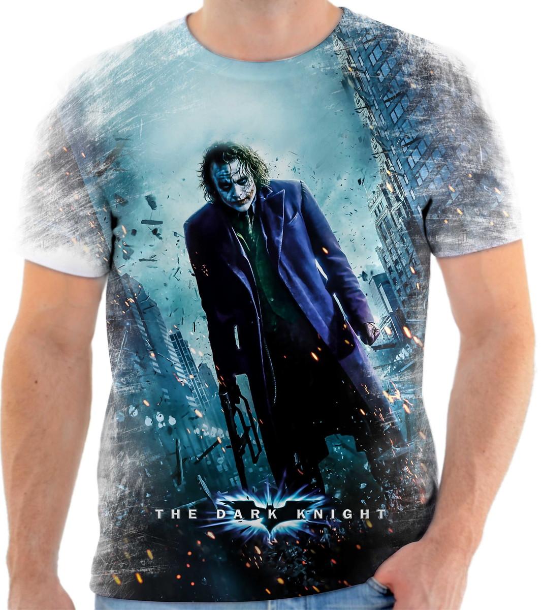 fb6f3352671f7 Camiseta Batman Coringa Herói 33 Ótima Qualidade no Elo7