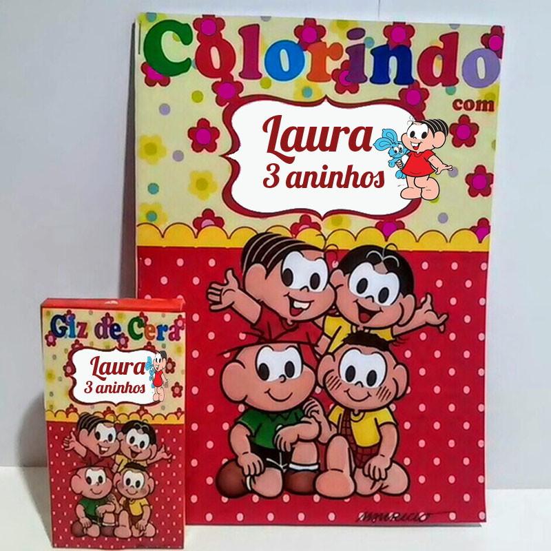 Caderno De Colorir Personalizado Giz De Cera No Elo7 Georgina