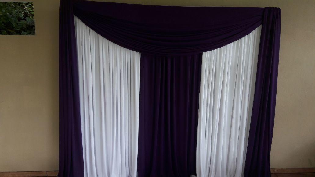 97b65ae9a15f Painel de cortina (Casamento/ Debutantes / Noivado) no Elo7 | Lú ...