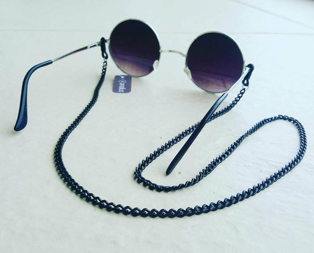 Corrente de Óculos (Preto) no Elo7   Anellus Acessórios (B5C589) 3ca422235f