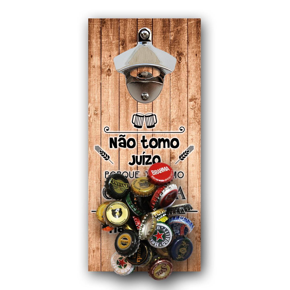 a4eb801a00f Abridor de garrafa divertido madeira ímã no Elo7