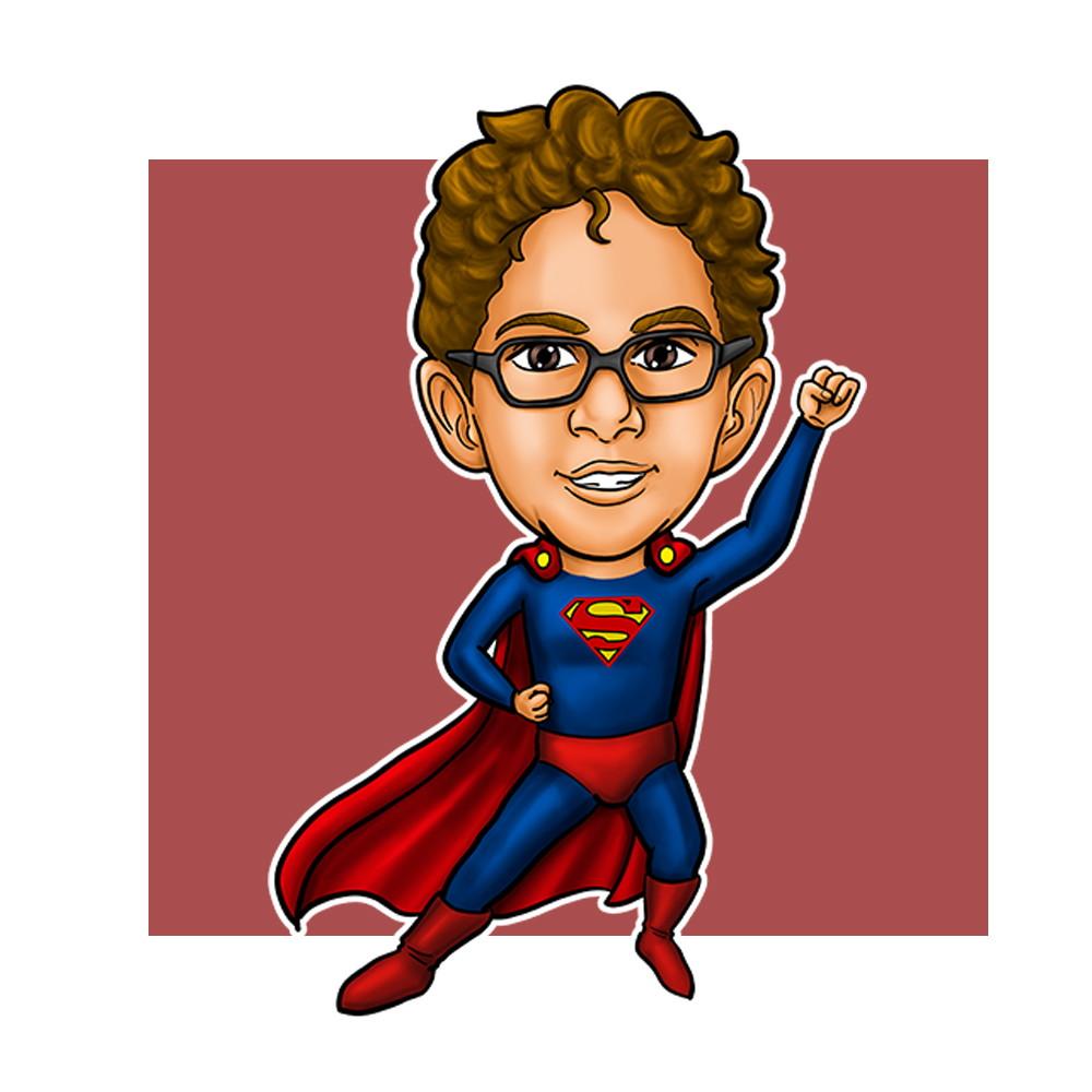 caricatura online no elo7 estúdio vassão caricaturas online e