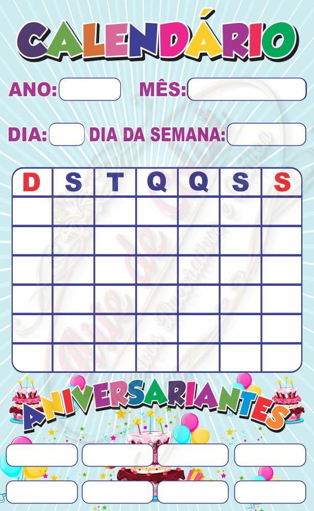 Calendario M.Banner Didatico Calendario Escolar 0 60 X 1 00 M