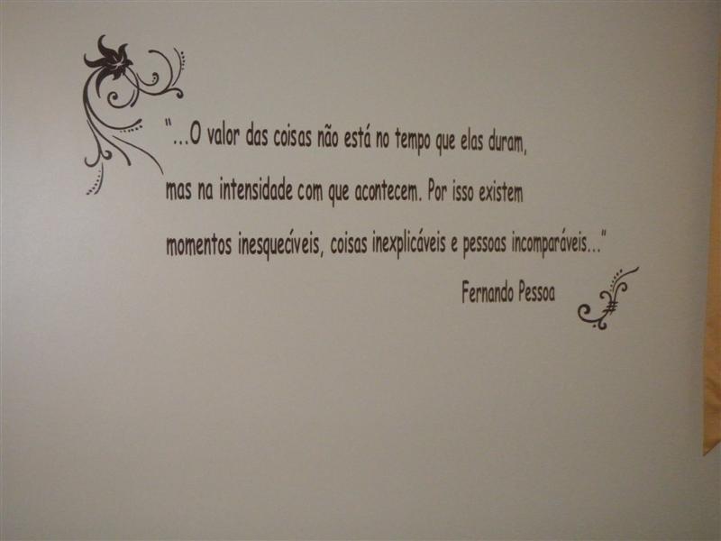 Adesivo Frase O Valor Das Coisas No Elo7 Adesivos Sr