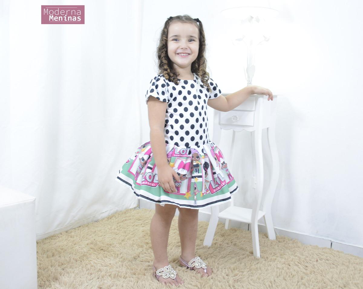 7c6384be15 Vestido infantil das mínis bonecas Lol surprise - smart no Elo7 ...