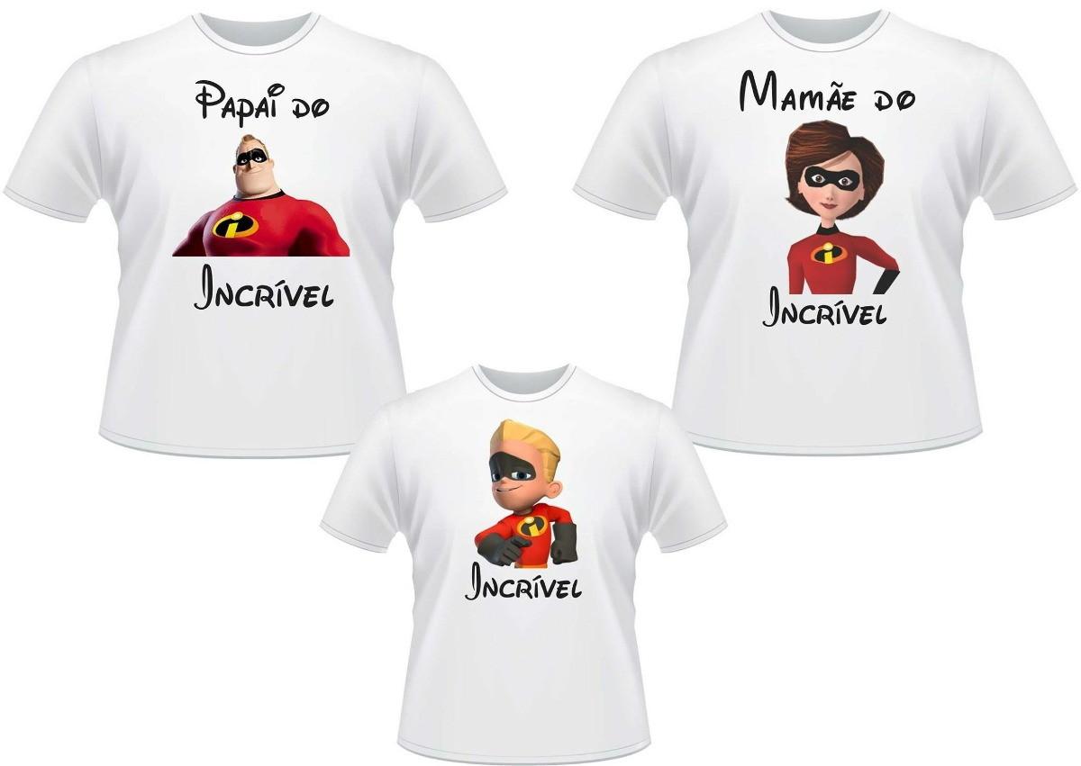 Kit 3 Camisetas Personalizadas para Aniversário Infantil no Elo7 ... ea6d3aba5c9