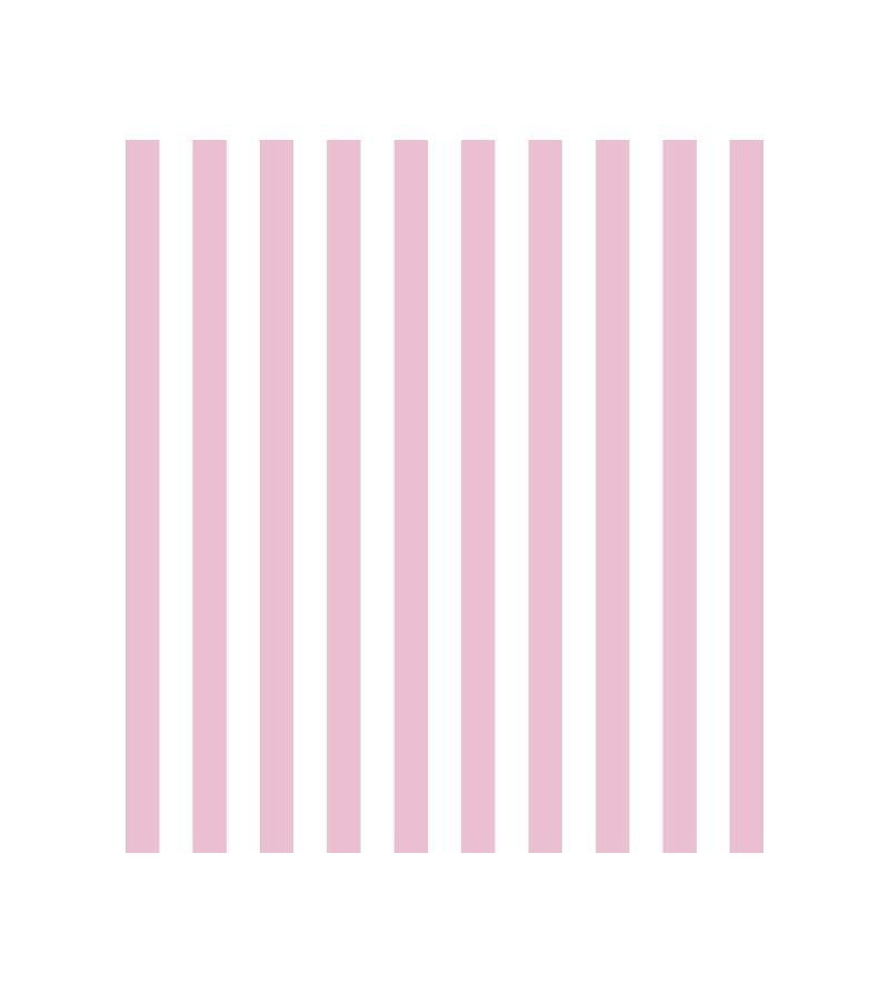 d49d09254 Zoom · Papel de parede menina listrado Rosa Claro e Branco (2