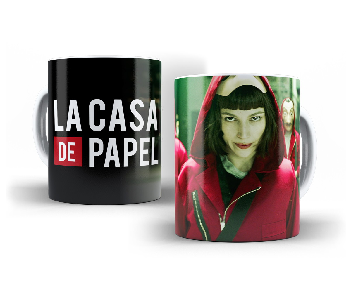 caneca la casa de papel no elo7 oranzee presentes b67b40. Black Bedroom Furniture Sets. Home Design Ideas