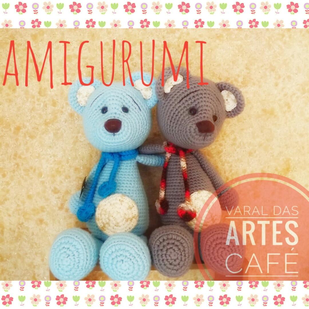 Armarinho São José: Urso Amigurumi Gigante com o Fio Lollipull ... | 1080x1080