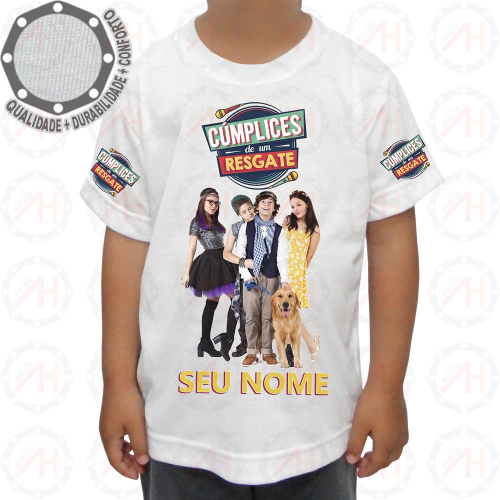Camiseta Cúmplices de um Resgate Camisa Ah01220 no Elo7  83bed2196dfdf