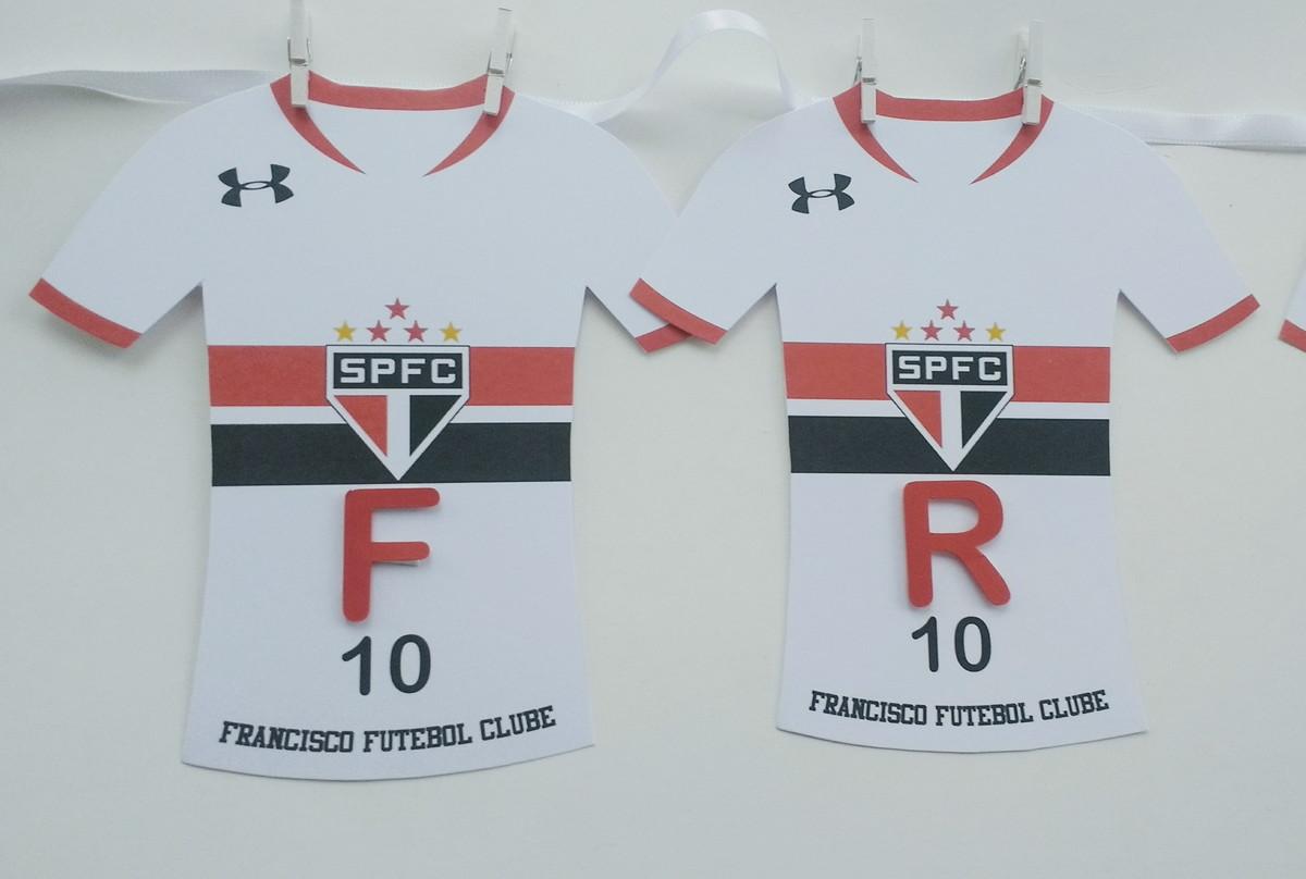 5f948ca506 Bandeirola - Camisa Futebol São Paulo no Elo7