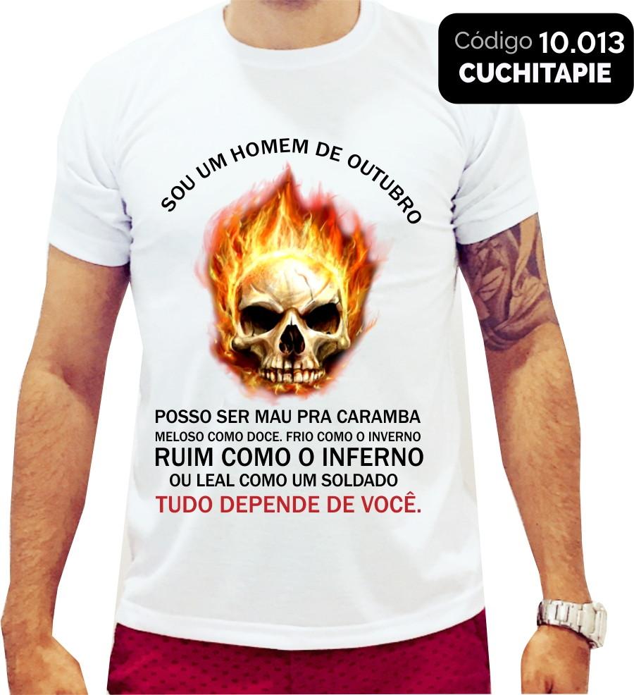 Camiseta Sou Um Homem De Outubro