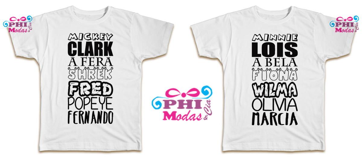 Camisas personalizada para casal (PAR) no Elo7  fe448fe655aa2