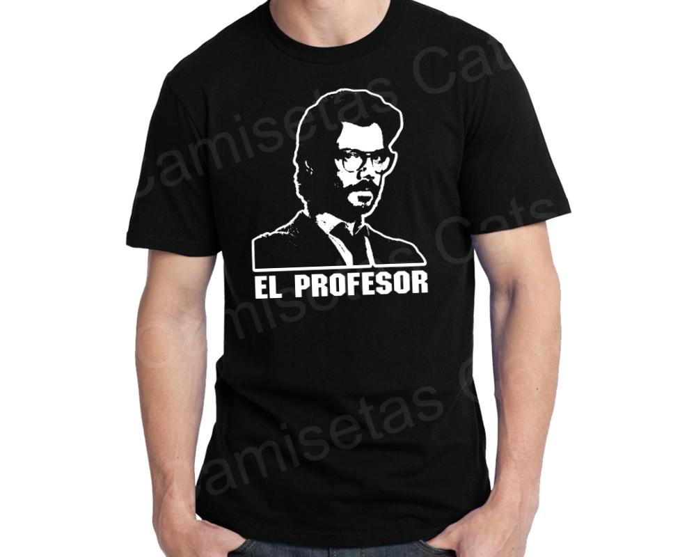 Camiseta La Casa De Papel Professor No Elo7 Camisetas Cats B72a30