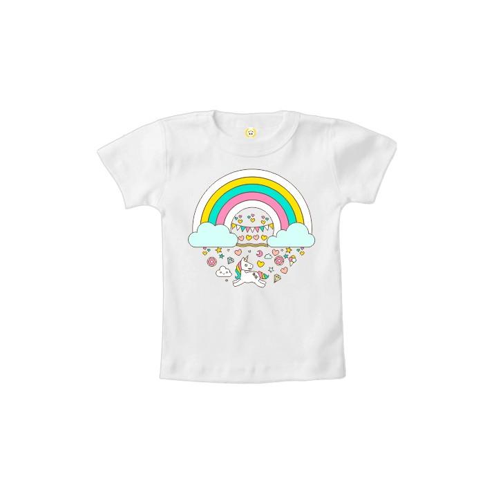 6e56597027d25 Camiseta INFANTIL OU Body Unicornio Encanto no Elo7