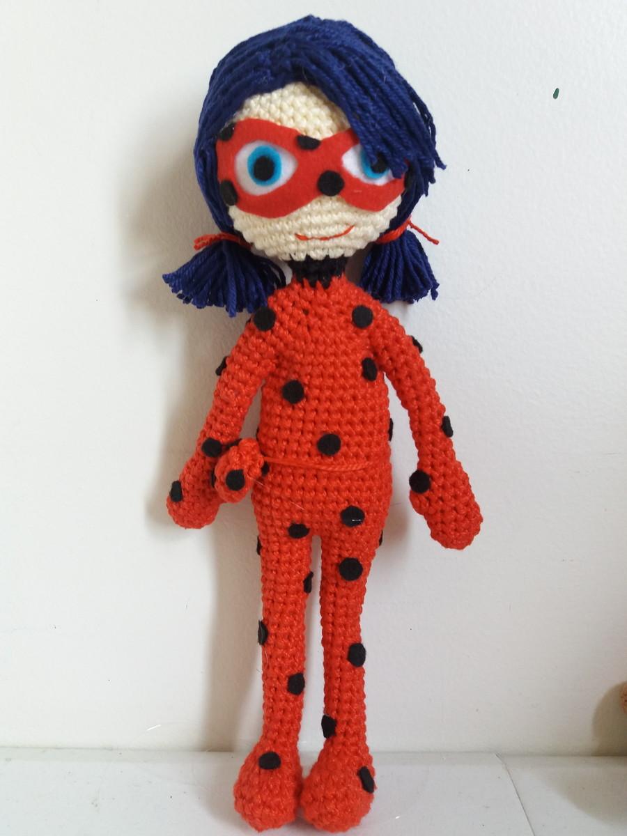 Miraculous Crochet Amigurumi of Ladybug and Cat Noir – So Good ...   1200x900