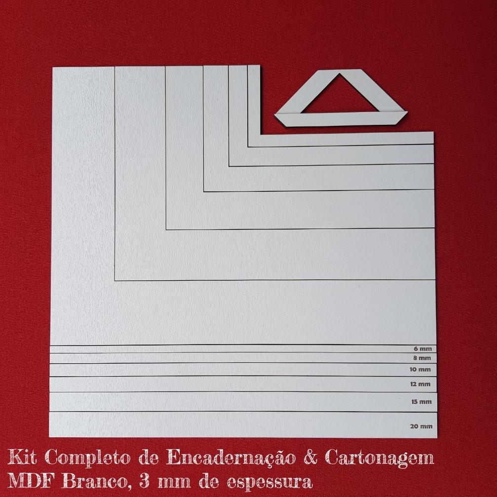 fd589bef4 Kit Réguas e Esquadros para Encadernação   Cartonagem no Elo7 ...