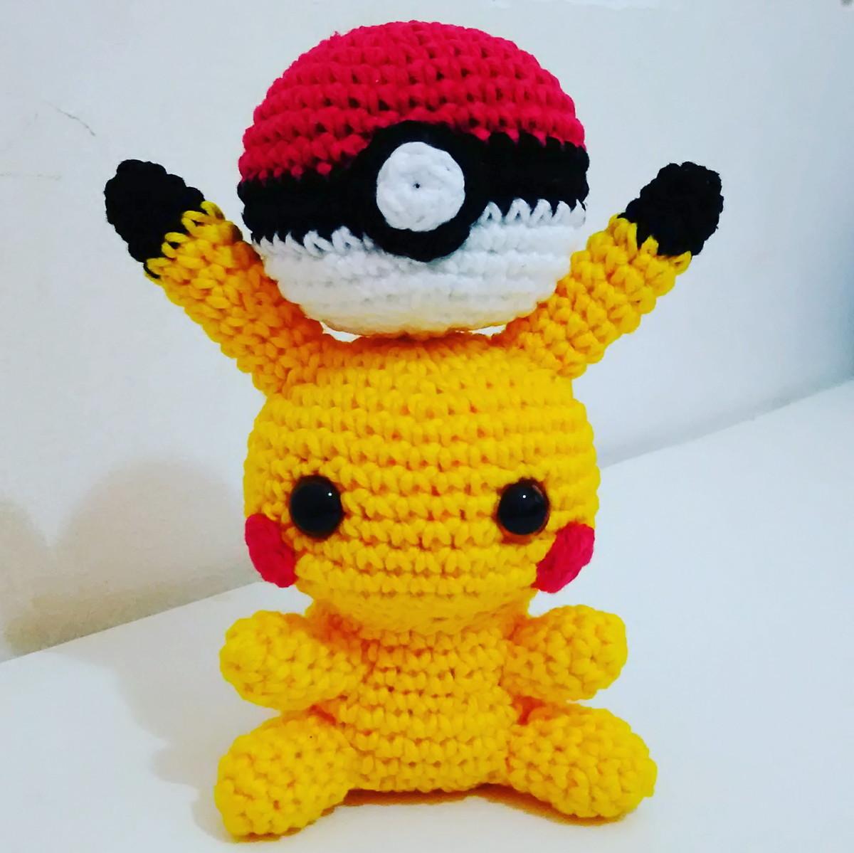 PIKACHU CROCHET PATTERN - Detective Pikachu Amigurumi Pdf pattern ... | 1199x1200
