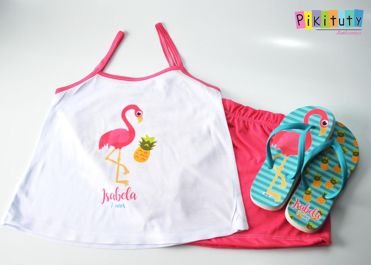 65ad9002e Pijama   Baby Doll + Chinelo - Festa do Pijama no Elo7