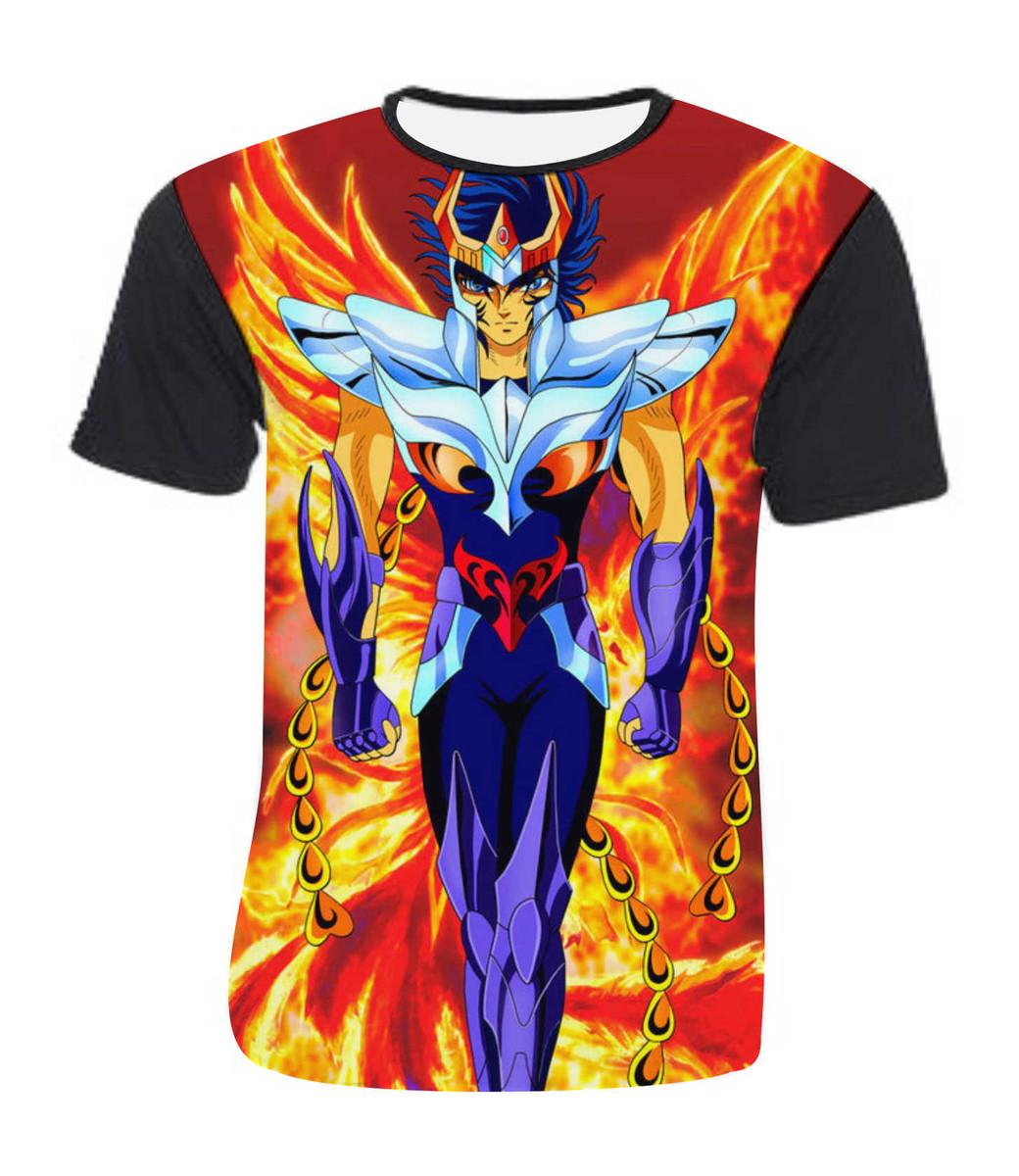 443dc429e Camiseta Cavaleiros do Zodiaco Mod 02 no Elo7